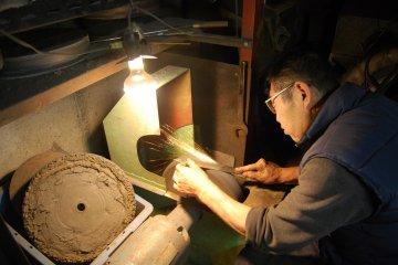 Meet the knife polisher, craftsman Morimoto Koichi