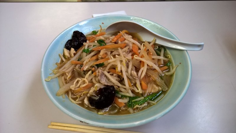 One of the most popular ramen