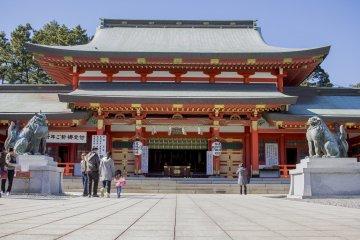 ศาลเจ้า Gosha ในฮะมะมัตซึต