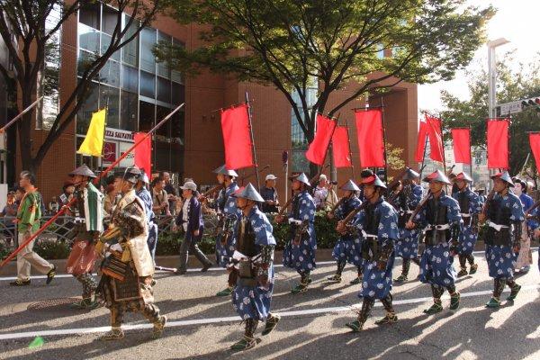 La parade du festival de Nagoya