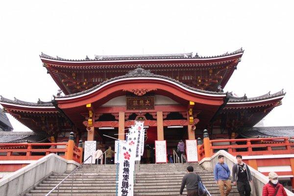 Façade du temple Ōsu Kannon