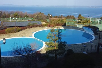 Outdoor pools are open for summer months