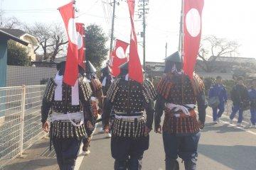 Porter une Armure dans le Tohoku