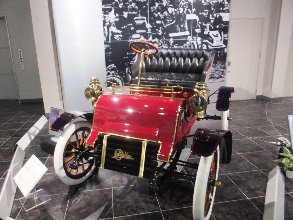 Chiếc Cadillac đời đầu