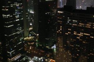 Gedung-gedung pencakar langit Shinjuku