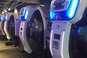 Les capsules Gundam pour une immersion totale