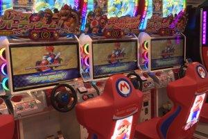 Une petite partie de Mario Kart ?