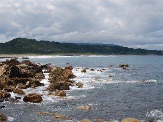 Nice ocean scenes wherever you look