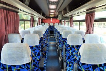The word shuttle really isn't accurate.  The one hour ride goes quickly in this spacious and comfortable bus.