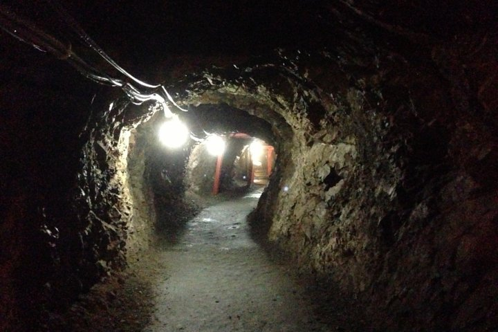A Creepy Walk through a WWII Bunker