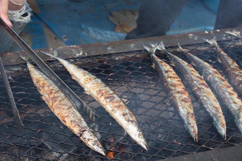 생선, 준비 완료