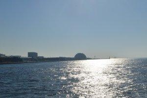 Teluk Osaka yang tenang