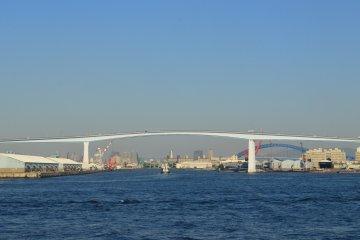 The bridge for vehicles