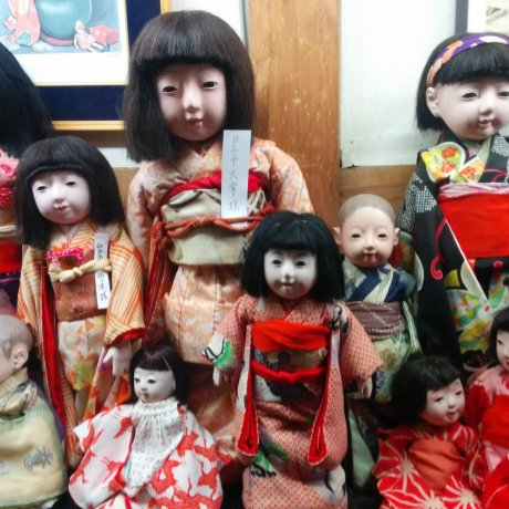 Doll Warehouse in Shiroishi