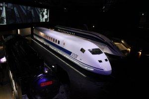 Les trois locomotives japonaise ayant battu un record de vitesse