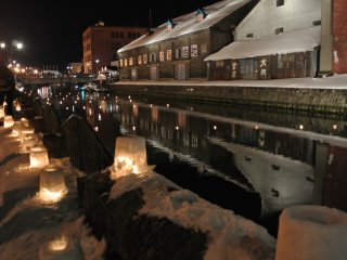 Beside the Otaru Canal