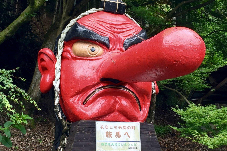 A Tengu - mountain dwelling goblin