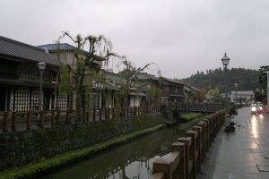 Suasana Sawara setelah diguyur hujan