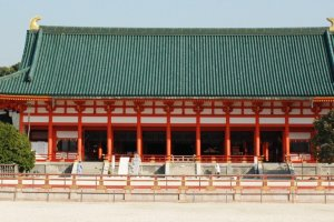 Heian Shrine (Photo courtesy of City of Kyoto and Kyoto Tourism Council)