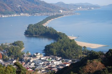 View of Amanohashidate from View Land