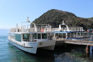 Joining the Ine-wan Meguri ferry cruise