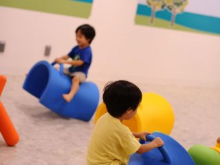 ASOBono! เป็นสนามเด็กเล่นในที่ร่มที่ดีมาก