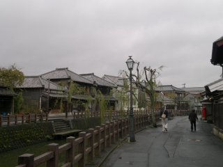 """After 15 minutes of walking away from the station area, I finally arrived in the """"Little Edo"""" part of Sawara"""