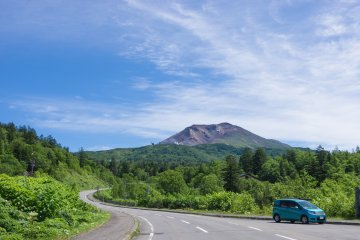 You can explore Japan's quiet byways in a rental car