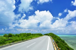 Prefectures like Okinawa are best explored by car