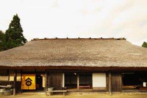Wagura Ichijoan Café in an Edo Period farmhouse