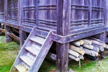 Beautiful weathered wood