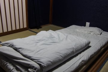 One of the rooms offered. Mixed dorms offer cozy and comfortable bunk beds.