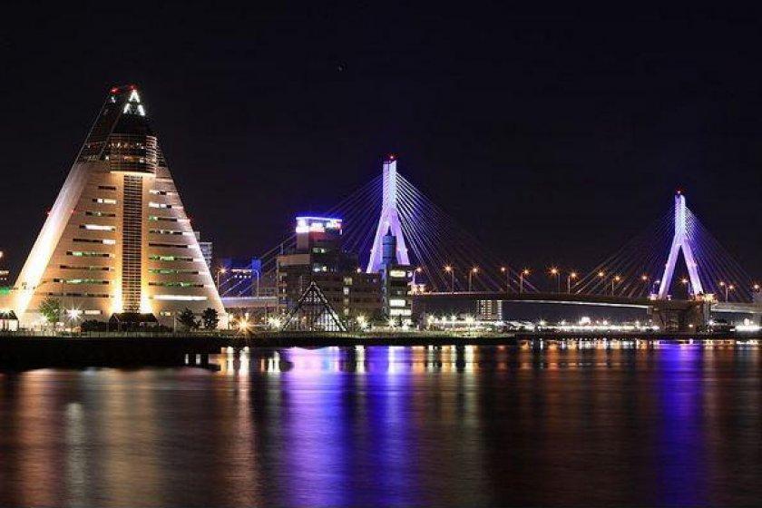 ASPAM and Aomori\'s Bay Bridge