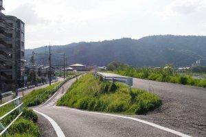 The route to Arashiyama.