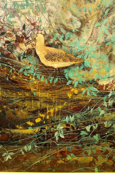 Detail of a decorative bird