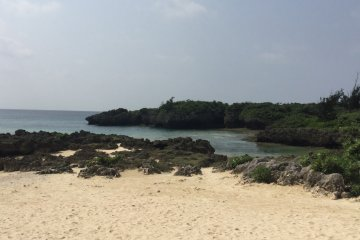 Take a walk on powdery soft sand on the hotel's beach front.