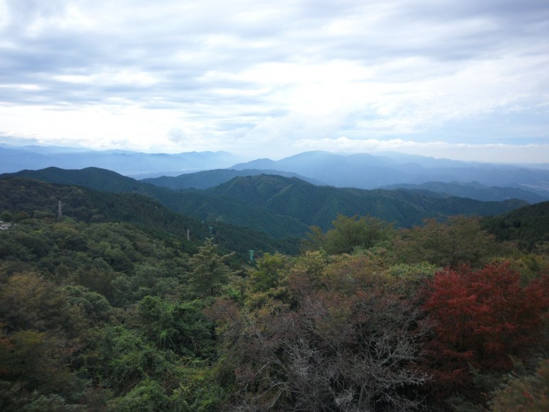 From the top of Mt Kongo