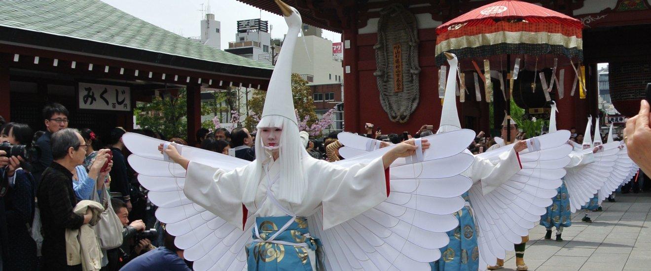 White Heron dancers