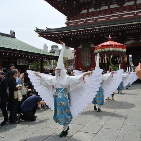 Sirasagi-no Mai di Kuil Senso-ji [Batal]
