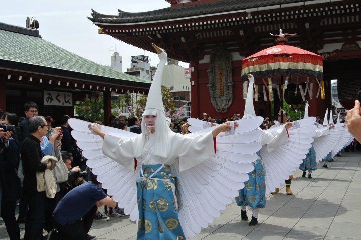 Shirasagi-no Mai at Senso-ji Temple