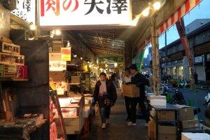 Keadaan pasar setelah matahari terbit