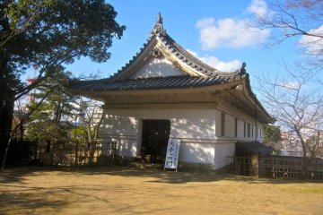 The entrance to the Ote Ichi no Mon Gate's guard house