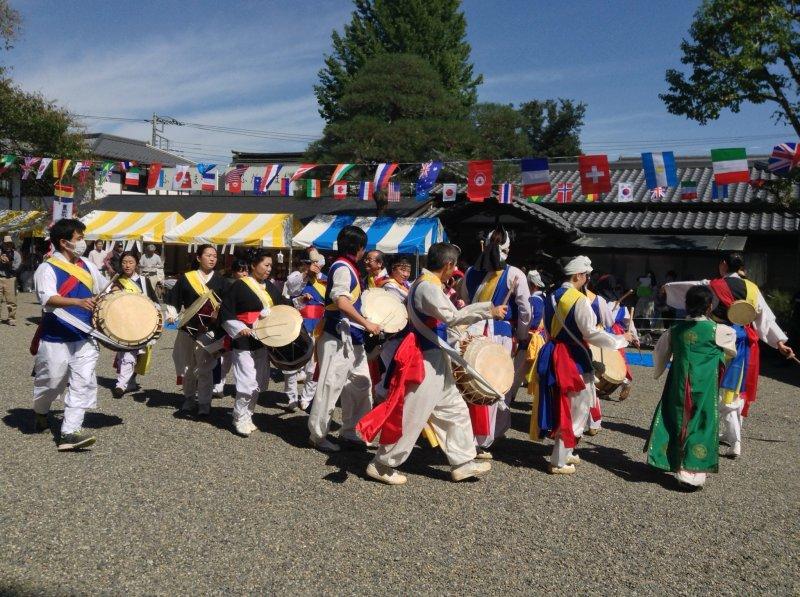 Festivities with a Korean flair