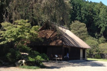 Replica of a typical Goguryeo-style dwelling