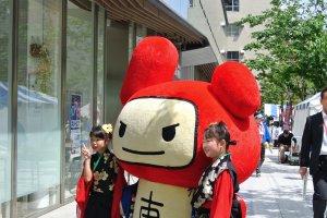 The Asakusabashi mascot