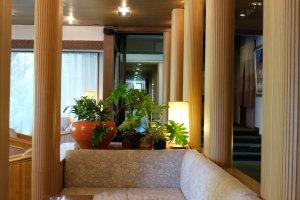 河口湖酒店大廳