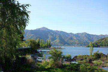 河口湖酒店-河口湖景觀