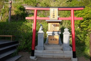 一間可愛的兔子神社(うさぎ神社)
