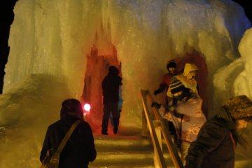 Entering the Castle Maze