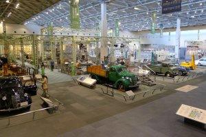 Une salle immense pour l'histoire automobile